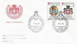 Malta - Malteserorden 1986: 3x FDC Mit Nr. A21-A26 #X78 - Malta (Orden Von)