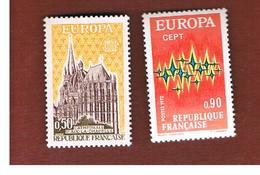 FRANCIA  (FRANCE)      -  SG 1964.1965  -  1972 EUROPA (COMPLET SET OF 2)   - MINT ** - Francia