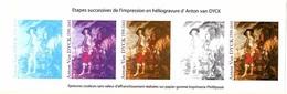 FRANCE BLOC ETAPES SUCCESSIVES D'IMPRESSION Anton Van DYCK - Blocs & Feuillets