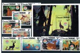 A26744)Disney: Grenada-Grenadinen 418 - 426** + Bl 51** - Disney