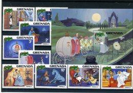 A26766)Disney: Grenada 1109 - 1117** + Bl 98** - Disney