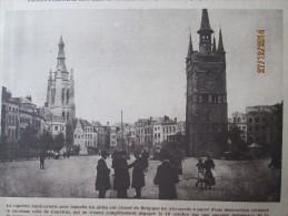 Guerre 14-18 Dans Courtrai Rendu Aux Belges    Belgique  COURTRAI  KORTRIJK  + ZEEBRUGGE - Non Classés
