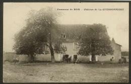 Commune De Rom-Château De La Guessonnière - France