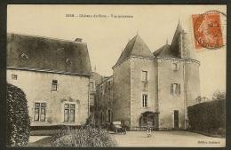 Rom-Château Du Boux-Vue Interieure - Frankreich