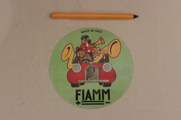 FIAMM MADE IN ITALY    1 Autocollant - Autocollants