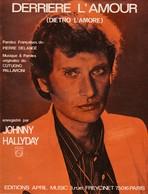"Partition Johnny Hallyday - ""Derrière L'amour"" - Music & Instruments"