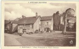 Monteils Place Principale Et Vieux Chateau - France