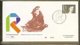1983 - Nederland Envelop FHE 50 - Tentoonstelling 100 Jaar Vereniging Rembrandt [A93_050] - Poststempels/ Marcofilie