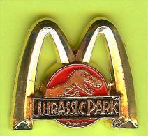 Pin's Mac Do McDonald's Jurassic Park Dinosaure - 10M19 - McDonald's
