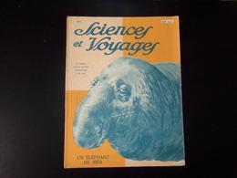 """"""" Sciences Et Voyages """" N° 296 , Avril 1925, """" Un éléphant De Mer """" - 1900 - 1949"""