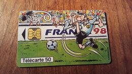 TÉLÉCARTE FRANCE  1998 F 867 MARGERIN ETAT UTILISEE - France