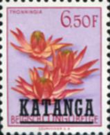 Ref. 354418 * NEW *  - KATANGA . 1961. FLOWERS. FLORES - Katanga