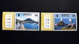 Jersey 1119/20 **/mnh, EUROPA/CEPT 2004, Ferien - Jersey