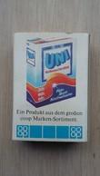 Zündholzschachtel Mit Einem Waschpulver-Karton (COOP) Aus Deutschland - Zündholzschachteln