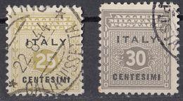 SICILIA, OCCUPAZIONE INTERALLEATA - 1943 - Due Valori Usati: Yvert 2 E 3. - Occup. Anglo-americana: Sicilia