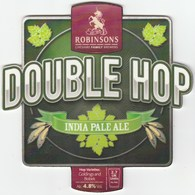 UNUSED - ROBINSONS BREWERY (STOCKPORT, ENGLAND) - DOUBLE HOP INDIA PALE ALE - PUMP CLIP FRONT - Signs