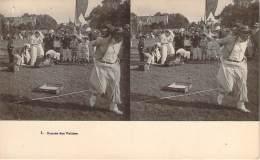 Stéréo - Course Des Valises (Vues Stéréoscopique Julien Damoy) - Stereoscope Cards