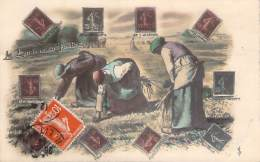 Le Langage Du Timbre - Semeuse - Stamps (pictures)