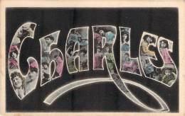 Prénom - Charles, Photomontage, Colorisée - Firstnames