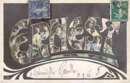 Prénom - Ernest, Style Art-Nouveau, Photomontage, Colorisée - Firstnames