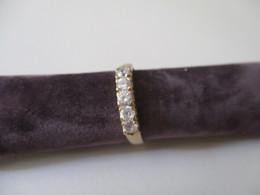 Riviere In Oro Giallo Con Zirconi - Rings