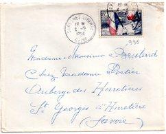 Lettre De    France.  En  1954 - France