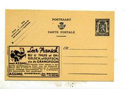 Belgique Publibel 558 Neuf Leer Fransch Assimil - Enteros Postales