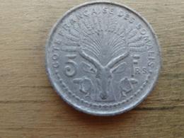 Cotes Francaise De Somalie  5  Francs  1959  Km 10 - Somalie
