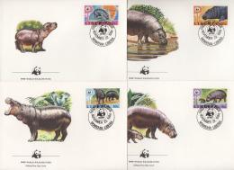 Ref. 23092 * NEW *  - LIBERIA . 1984. PYGMY HIPPOPOTAMUS. HIPOPOTAMO ENANO - Liberia