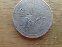 Cotes Francaise De Somalie  5  Francs  1948  Km 6 - Somalie