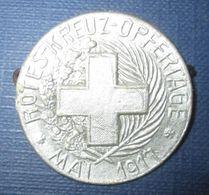 """Insigne De Journée Allemand 1914-18-""""Rotes Kreuz 1917"""" - 1914-18"""