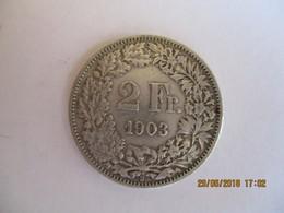 Suisse: 2 Francs 1903 - Suiza