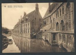 +++ CPA - Grande Carte - BRUGGE  BRUGES - Hôpital St Jean Ziekenhuis - Nels   // - Brugge