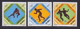 MALI N°  201 à 203 ** MNH Neufs Sans Charnière, TB (D7398) Sports, Jeux Africains à Lagos - Mali (1959-...)