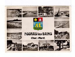 Fouras Les Bains. Multivues. Années 1960. (3019) - Fouras-les-Bains