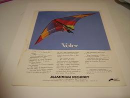 ANCIENNE AFFICHE PUBLICITE VOLER AVEC ALUMINIUM PECHINEY 1983 - Autres