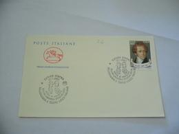 BUSTA PRIMO GIORNO  FDC   POSTE ITALIANE CATANIA BELLINI - 6. 1946-.. Repubblica