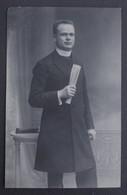 Original Photo 1923 Signed By Gimnasium Professor In Mitrovica - Serbia - Foto Dedicate