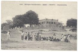 Cpa Afrique, Soudan - Mopti - Charlotville ( Timbres Guinnée Française, 05 ) - Soudan