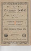 Catalogue Appareils électriques - Ernest Née - - Electricity & Gas