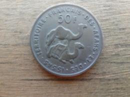 French  Afars & Issas  50  Francs  1970  Km 18 - Djibouti