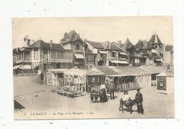Cp , 44 , LA BAULE ,la Plage Et Les Baraques , Vierge , Ed. LL , N° 7 - La Baule-Escoublac