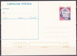 ITALIA REPUBBLICA CARTOLINA POSTALE CASTELLO DI MONSELICE  ANNO 1987 - 6. 1946-.. Repubblica