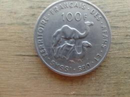 French  Afars & Issas  100  Francs  1970  Km 19 - Djibouti