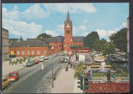 Denmark Postcard - Herning From The Square DC1735 - Denmark