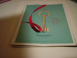 PUBLICITE AFFICHE BIJOUX TIFFANY 2013 - Other