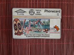 Phonecard Papua New Guinea 306 D (Mint,Neuve) Rare - Papouasie-Nouvelle-Guinée