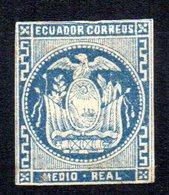 Sello Nº 1a Ecuador - Águilas & Aves De Presa