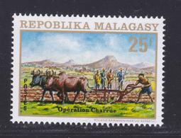 MADAGASCAR N°   512 ** MNH Neuf Sans Charnière, TB (7402) Opération Charrue, Boeufs, Animaux - Madagascar (1960-...)