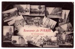 1948 - Paris ( XXe ) - Souvenir De Paris - XXe Arrondissement - - Arrondissement: 20